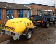 Water Bowser for sites with no water suplly
